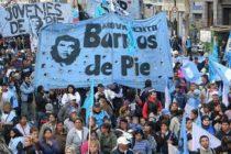 Barrios de Pie desembarca en Baradero