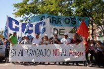 [Chaco] Barrios de Pie rechaza la visita de Macri porque no tiene temas de índole social