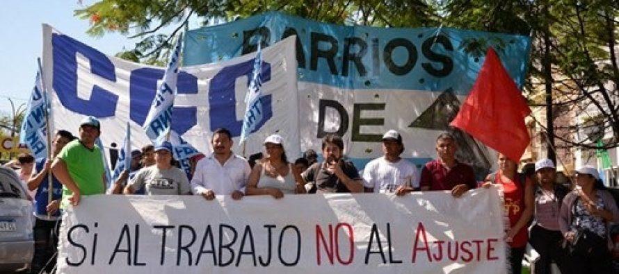[Chaco] Barrios de Pie se adhiere al paro nacional del lunes