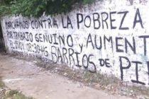 [Corrientes] Adhieren a movida nacional contra la pobreza y por trabajo genuino