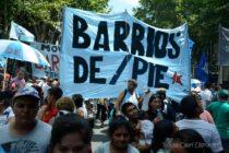 Barrios de pie participará en la movilización de las dos CTA