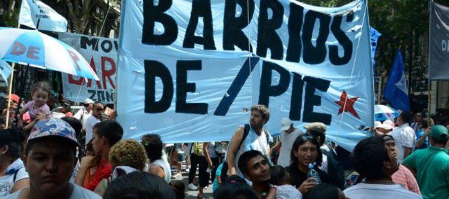 15/4 Barrios de Pie se movilizará al Ministerio de Transporte por la Tarifa Social