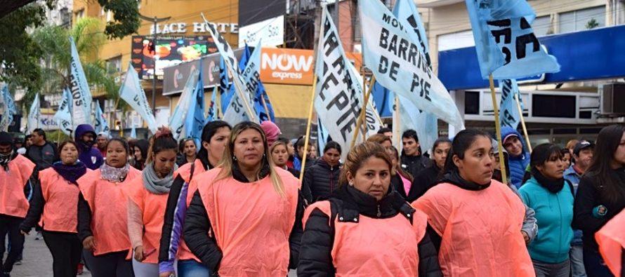 [Santiago del Estero] Barrios de Pie se movilizó contra el ajuste, el desempleo y el hambre.