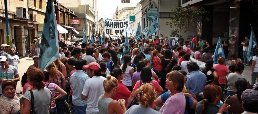 [Tucumán] Barrios de Pie se movilizó a la sede local del Ministerio de Trabajo