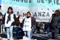 [La Matanza] Hoy. Olla popular de Barrios de Pie frente al municipio