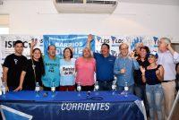Barrios de Pie. Silvia Saravia reunió a dirigentes del NEA