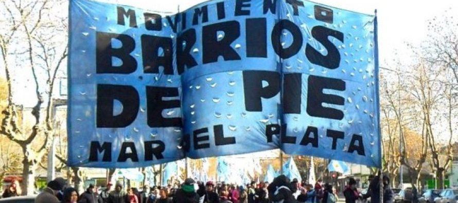 [Mar del Plata] Barrios de Pie apela a un verano solidario