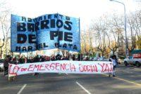 [Mar del Plata] Ante promesas incumplidas, Barrios de Pie se moviliza a la municipalidad