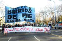 [Mar del Plata] Barrios de Pie, Ctep y la CCC preparan masiva marcha