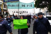 [La Matanza] Movilización de Barrios de Pie