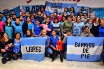 [Neuquén] Barrios de Pie ratifica a Silvia Saravia como coordinadora nacional de Barrios de Pie