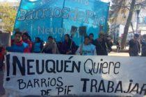 [Neuquén] Desde Barrios de Pie repudiamos toda acción violenta