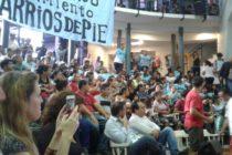 [CABA] Acto en ATE de la ciudad hacia el Encuentro Nacional de Barrios de Pie