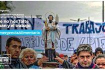 [Corrientes] Barrios de Pie marcha por Paz, Pan y Trabajo