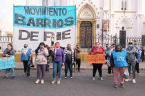 [Santa Fe] Barrios de Pie movilizó a la iglesia de San Cayetano en Rosario.