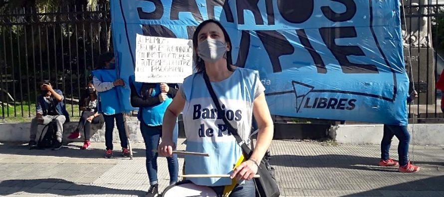 [La Plata] Barrios de Pie reclamó por la resolución del programa Secundaria con Oficios.