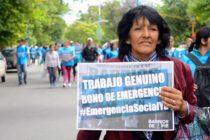 [Tucumán] Barrios de Pie moviliza junto a otras organizaciones sociales