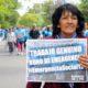 Barrios de Pie Tucumán marchó a una audiencia en casa de gobierno