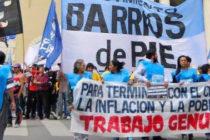 """""""Vivimos en Emergencia Social"""" Movimientos sociales junto a la CGT"""
