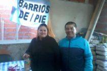 """[Zarate] Oscar Ibáñez: """"Donde hay una necesidad, esta Barrios de Pie"""""""