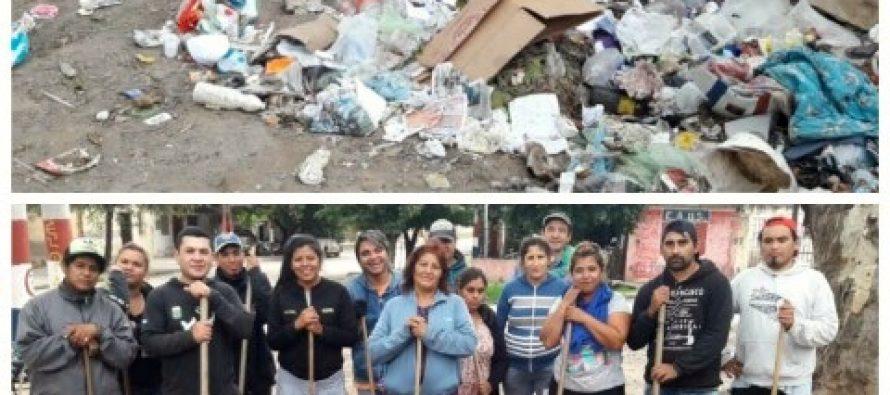 [Santiago del Estero] Barrios de Pie se une al Basura Challenge y contribuye a un Santiago mas limpio