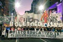 [CABA] El boleto educativo gratuito debe incluir a universitarios y docentes