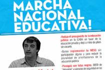 [CABA] 3/12 El Movimiento Sur participará de la Marcha Nacional Educativa