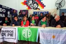 [La Matanza] Presentación de los candidatos de la Lista 1 Germán Abdala