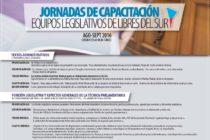 [Chaco] Capacitación para equipos legislativos de Libres del Sur