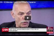 """Caparrós: """"Lo raro es creer que los grandes capitalistas tengan todo declarado"""""""