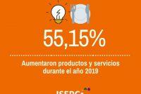 [Chaco] Durante el 2019 los productos y servicios aumentaron un 55,15%