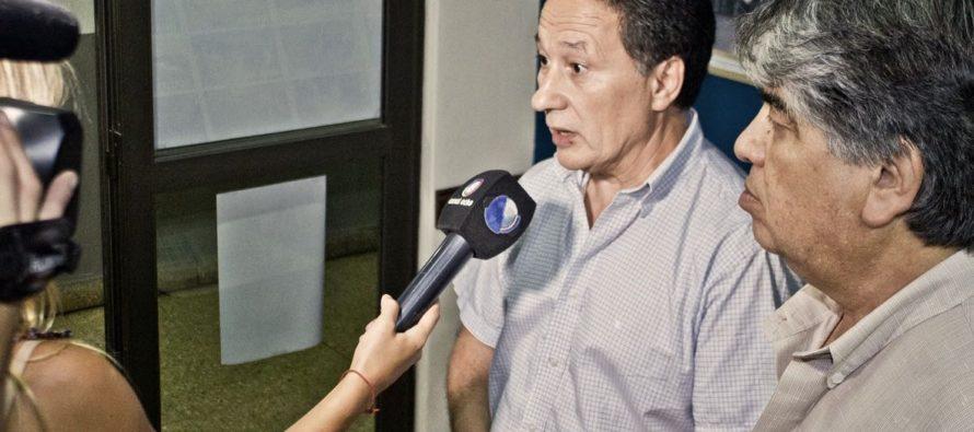 [Mar del Plata] Jorge Ceballos junto a José Rigane por el aumento de la tarifa eléctrica