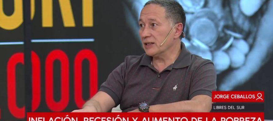 El 42% de pobreza denuncia  a la dirigencia del país. Por Jorge Ceballos.