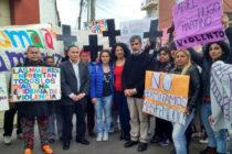 [La Matanza] Jorge Ceballos acompañó a Daniela Artusa, víctima de violencia de género