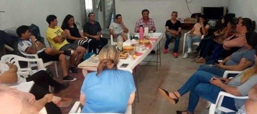 [Bs. As.] Jorge Ceballos recorrió la segunda sección electoral