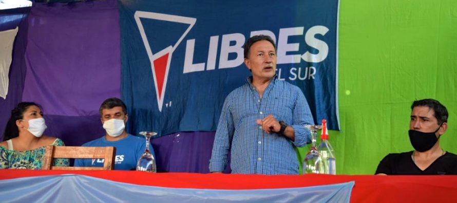 [Bs. As.] Jorge Ceballos visitó Villa Gesell y Pinamar.