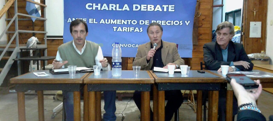 """[Vicente López] Jorge Ceballos: """"Los aumentos se aplicaron sin audiencias públicas tal como prevé la ley"""""""