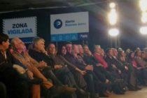 Jorge Ceballos y Victoria Donda en la presentación de Alerta Buenos Aires