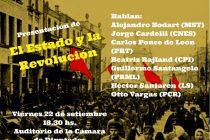 Centenario de la Revolución de Octubre. Presentan