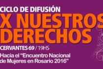 [Chaco] 16/9 MuMaLa invita al Pre-Encuentro De Mujeres. Ciclo