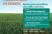 [Mendoza] 17/8 Pérez Esquivel y la Graciela Cousinet en la UNCuyo