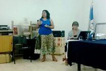 [Plaza Huincul] Mumalá brindó charla por el Día de la Mujer
