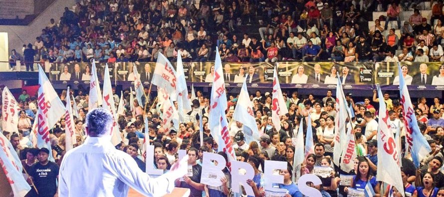 [Santiago del Estero] Con un gran acto Libres cerró su campaña