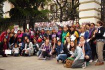 """[La Plata] Mujeres bonaerenses con la Consulta Popular """"Vivas Nos Queremos"""""""