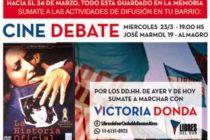 [CABA] 23/3 Cine debate hacia el 24 de Marzo