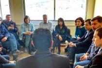 Santiago Maldonado. La comisión de DDHH se reunió con el juez Lleral