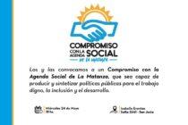 [La Matanza] 24/5 Acuerdo de Compromiso con la Agenda Social