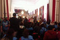 [Pergamino] Fuerte Movilización al Concejo Deliberante  de Pergamino, en Reclamo  de la Emergencia Social