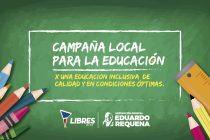 [La Matanza] Consulta popular sobre la realidad educativa del distrito