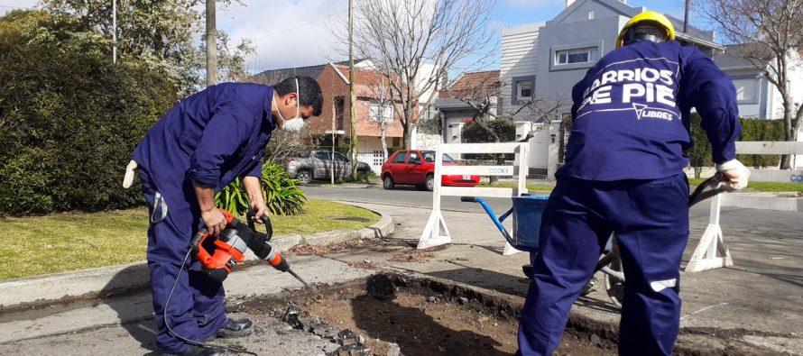 [Mar del Plata] Inicia obras cooperativa de Barrios de Pie.